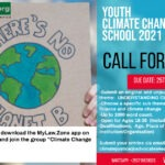 CALL FOR ESSAYS: Youth Climate Change Summer School 2021
